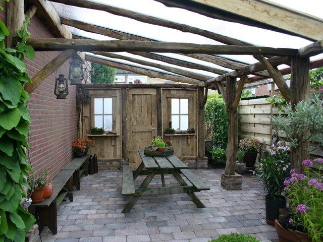 Veranda ommen tuinhuizen veranda 39 s d core decoratieve bouw en schilderwerken - Veranda decoratie ...